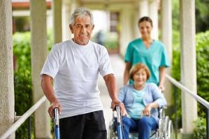 Verpleeg- en verzorgingshuizen. Verstandelijk beperkten zorg.